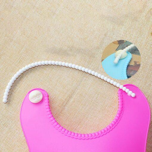 Children s Three dimensional Waterproof Bib Baby Disposable Bib Baby Silicone Soft Bib Maternal And Child 9