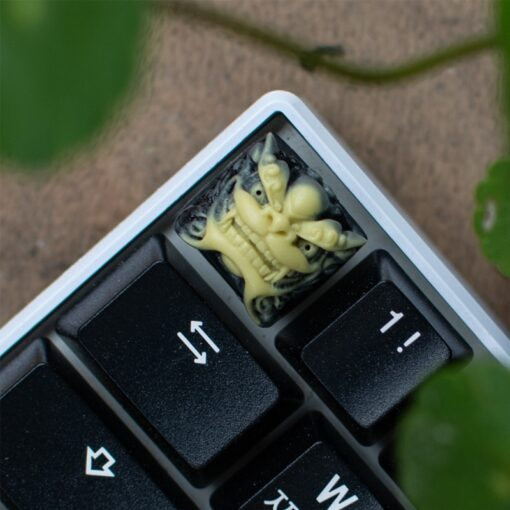 Chinese Style Lion Head Keycap Resin Fancy Key Cap For Cherry MX Keyboard New 2