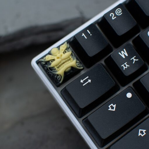 Chinese Style Lion Head Keycap Resin Fancy Key Cap For Cherry MX Keyboard New 4
