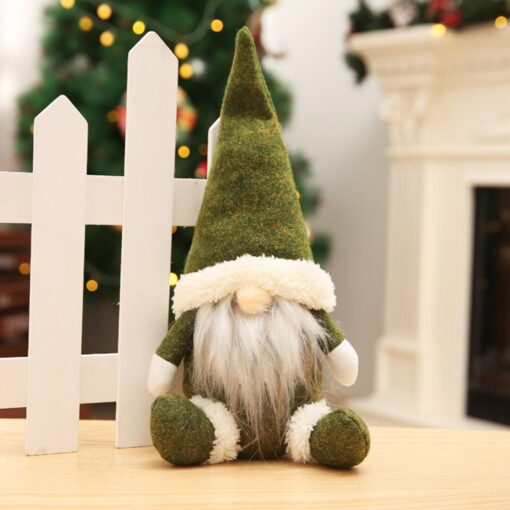 Christmas Decorations Faceless Old Man Dolls Window Decorations Nordic Style Decorative Dolls Exquisite 20