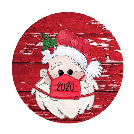 Christmas Stickers Decoration Gifts Personalized Family Stickers Round Stickers Xmas Window Stickers Navidad Decorations 922 2