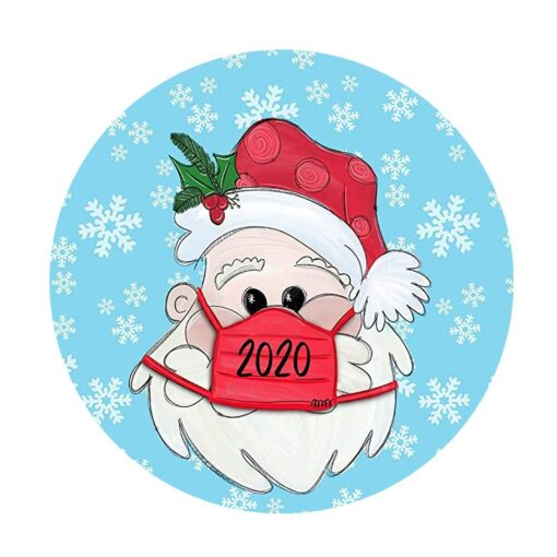 Christmas Stickers Decoration Gifts Personalized Family Stickers Round Stickers Xmas Window Stickers Navidad Decorations 922 4