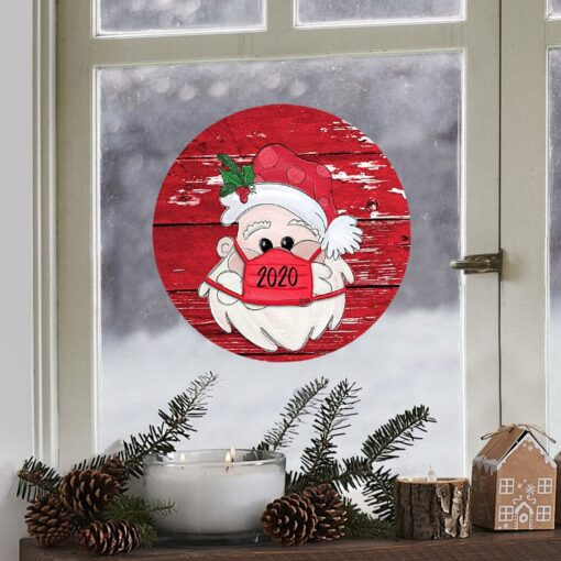 Christmas Stickers Decoration Gifts Personalized Family Stickers Round Stickers Xmas Window Stickers Navidad Decorations 922