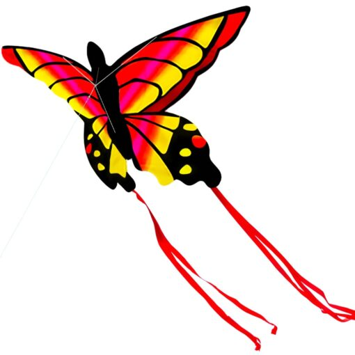 Colorful Beautiful Butterfly Kite Outdoor Games and Activities Single Line Kite Kids Flying Kite for Adults 1