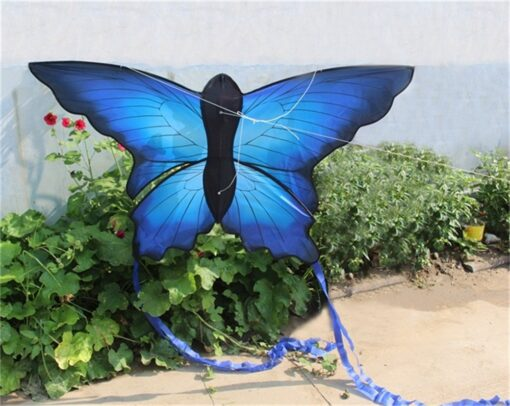 Colorful Beautiful Butterfly Kite Outdoor Games and Activities Single Line Kite Kids Flying Kite for Adults 4