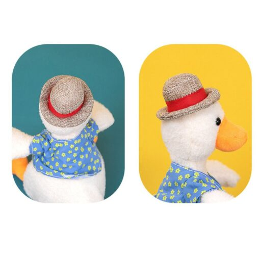 Come On Duck Net Red Duck Sand Sculpture Toy Can Learn To Talk And Play Music 16