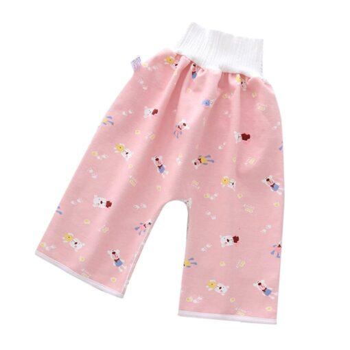 Comfy Children s Diaper Waterproof And Leakproof Elastic Waist Loose Shorts 40 1