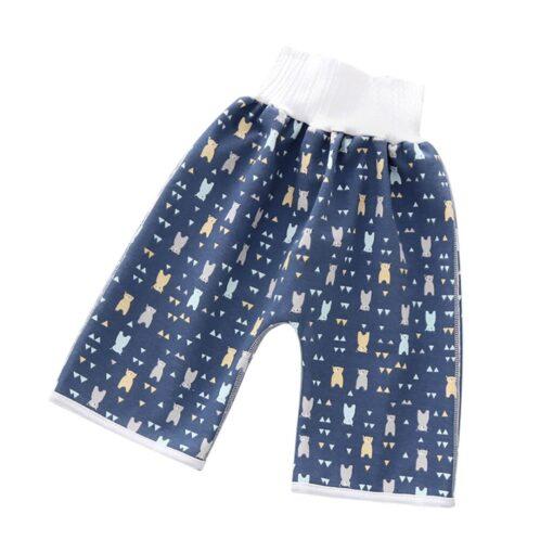 Comfy Children s Diaper Waterproof And Leakproof Elastic Waist Loose Shorts 40 4