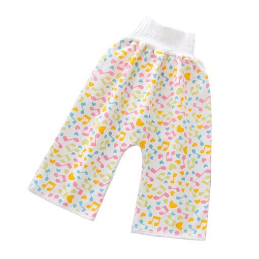 Comfy Children s Diaper Waterproof And Leakproof Elastic Waist Loose Shorts 40 5