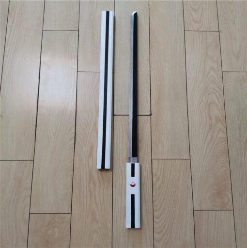 Cosplay Anime Naruto Uchiha Sasuke ZAOZHI Katana Sword Weapon Prop Role Play Yamato Tateru PU Model 1
