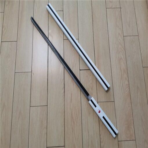 Cosplay Anime Naruto Uchiha Sasuke ZAOZHI Katana Sword Weapon Prop Role Play Yamato Tateru PU Model 2