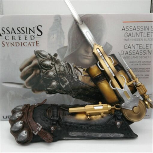 Cosplay Novel Game Assassin s Creed 6 Syndicate Weapon Model 1 1 Wrist Sleeve Matching Sleeve