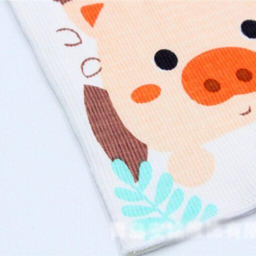 Cotton Cartoon Baby Bib Infant Umbilical Cord Umbilical Truss Warmer Belt Diaper Belly Band Wrap Kids 2