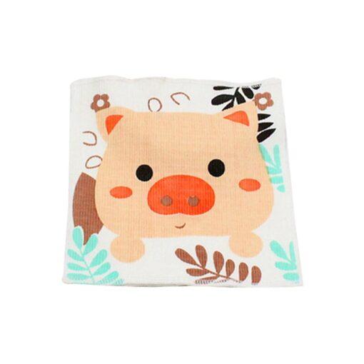 Cotton Cartoon Baby Bib Infant Umbilical Cord Umbilical Truss Warmer Belt Diaper Belly Band Wrap Kids