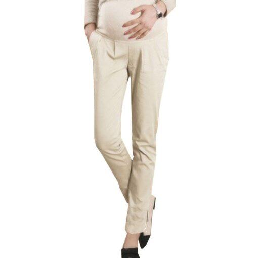 Cotton Pregnant Pants Maternity Clothes For Pregnant Women Trousers Pregnancy Pant Gestante Pantalones Embarazada Clothing 1