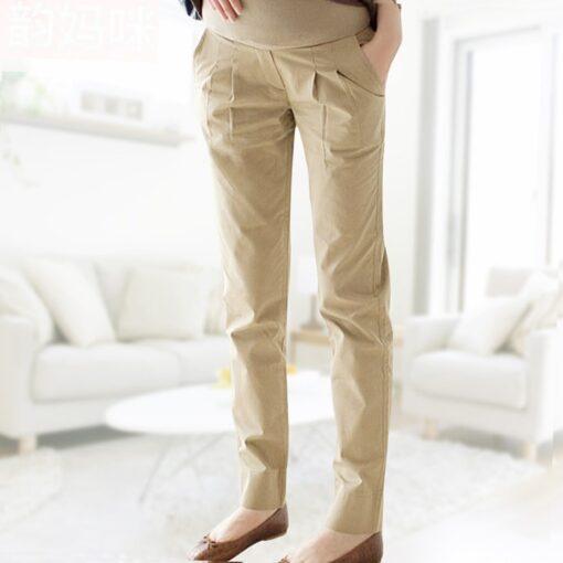 Cotton Pregnant Pants Maternity Clothes For Pregnant Women Trousers Pregnancy Pant Gestante Pantalones Embarazada Clothing 2