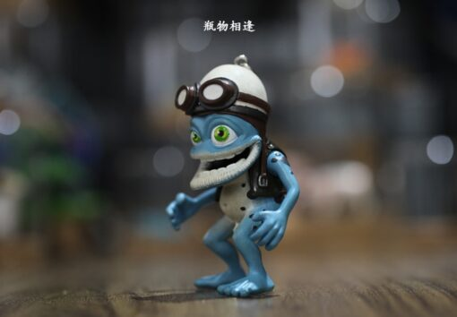 Crazy frog doll crazy frog doll pendant key chain Ornament Gift car decoration 3