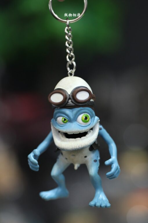 Crazy frog doll crazy frog doll pendant key chain Ornament Gift car decoration 4