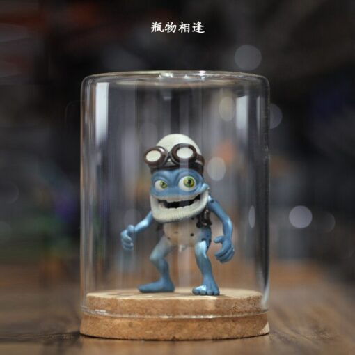 Crazy frog doll crazy frog doll pendant key chain Ornament Gift car decoration 5