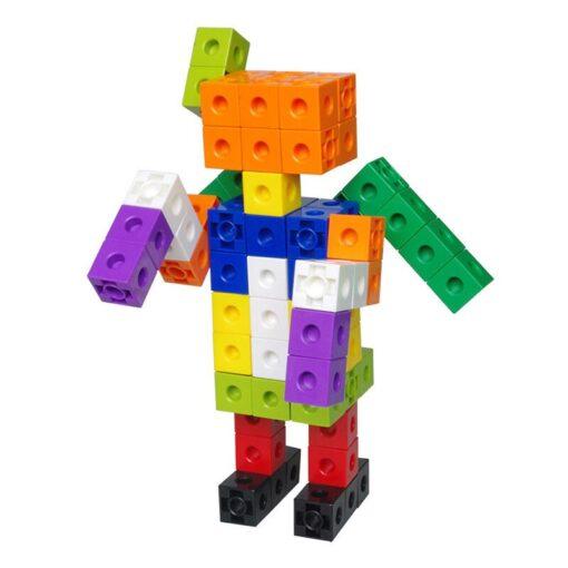 Creative Toy Math Spell Insert 2cm Square Blocks Mathlink Cubic Blocks Kindergarten Early Education Building Blocks 3
