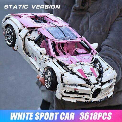 Creator City Technic Mini Bricks Racing Car Bugattis 1 10 Champions Sports Car Building Blocks Bricks 1