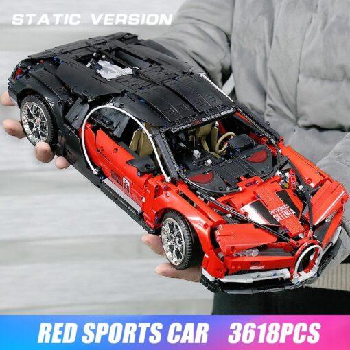 Creator City Technic Mini Bricks Racing Car Bugattis 1 10 Champions Sports Car Building Blocks Bricks 3