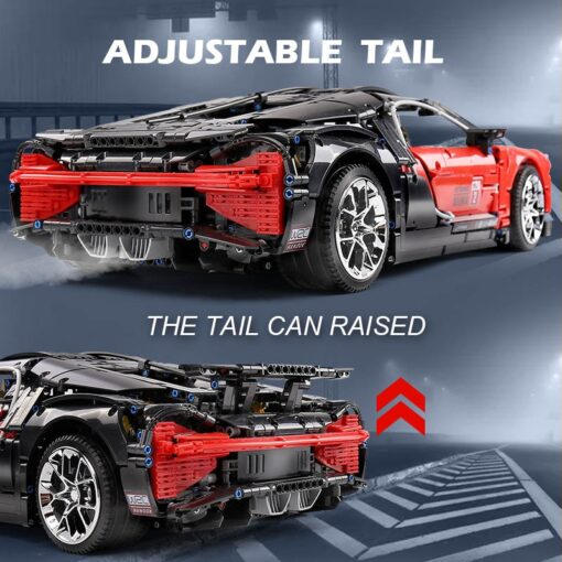 Creator City Technic Mini Bricks Racing Car Bugattis 1 10 Champions Sports Car Building Blocks Bricks 4