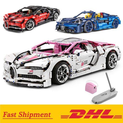 Creator City Technic Mini Bricks Racing Car Bugattis 1 10 Champions Sports Car Building Blocks Bricks