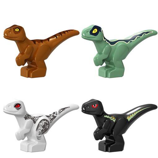 Creator Jurassic Dinosaur World Park Baby Figures Carnotaurus T Rex Dinosaur Carnotaurus Tyrannosaurs Creators Blocks Toy