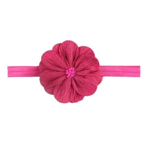 Cute Baby Headband Flower Girls 14 Colors Ribbon Hair Bands Hair Accessories Baby Girl Headbands Children 5