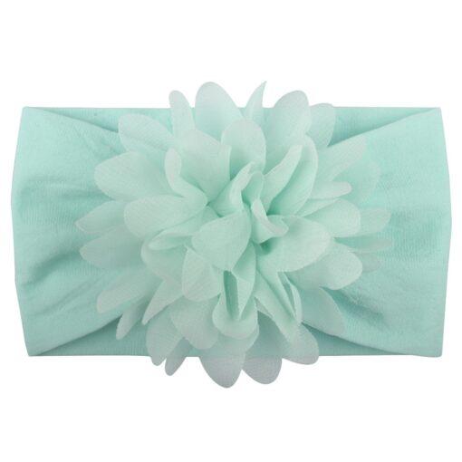 Cute Baby Headband Turban Flower Newborn Baby Girl Headbands Elastic Kids Hair Band Kids Hair Accessories 5