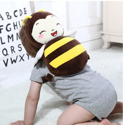 Cute Baby Newborn Head Back Protection Pillow Toddler Wings Drop Resistance Pad Guardian Cushion Toys BM88 5