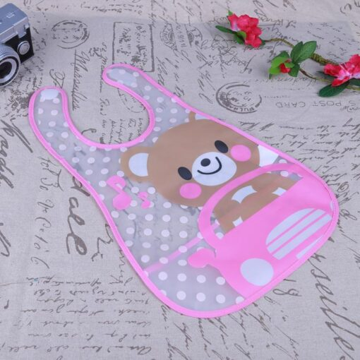Cute Cartoon Baby Kids Bibs EVA Waterproof Saliva Towel Infants Feeding Care Bandana Apron Newborn Boys 1