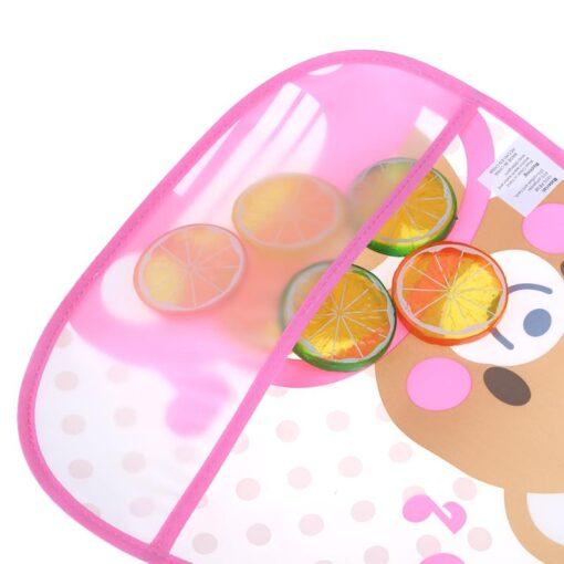 Cute Cartoon Baby Kids Bibs EVA Waterproof Saliva Towel Infants Feeding Care Bandana Apron Newborn Boys 5