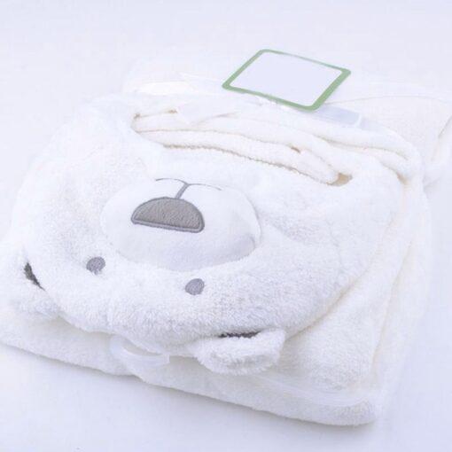 Cute Cartoon Baby Washcloth Bath Towel For Bathing Wipe Cloth Towel Blanket 2