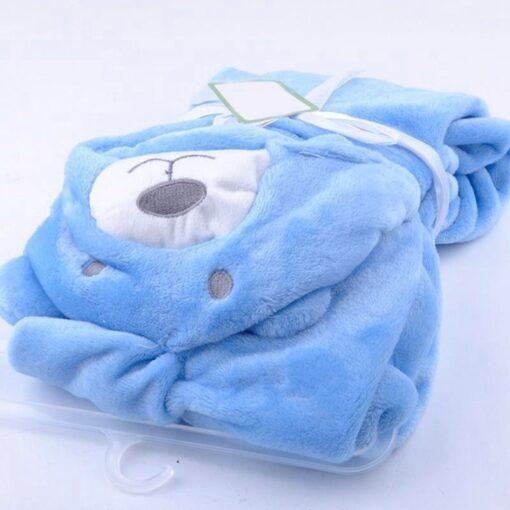 Cute Cartoon Baby Washcloth Bath Towel For Bathing Wipe Cloth Towel Blanket 3