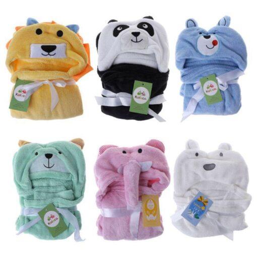 Cute Cartoon Baby Washcloth Bath Towel For Bathing Wipe Cloth Towel Blanket