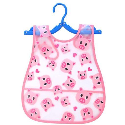 Cute Kid Infant Bibs Baby Soft Cartoon Bib Waterproof Saliva Dripping Bibs 2