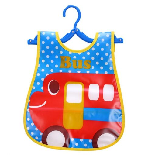 Cute Kid Infant Bibs Baby Soft Cartoon Bib Waterproof Saliva Dripping Bibs 5