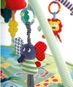 Cute Music Elephant Bell Rattles Toy Safety Baby Soft Plush Stroller Doll Toys Education Toy Cotton 2