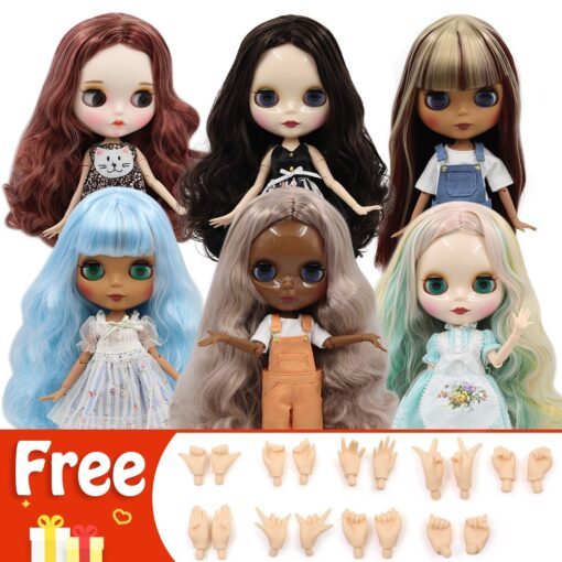 DBS BJD ICY Factory blyth doll nude 30cm Customized doll 1 6 doll with joint body 1