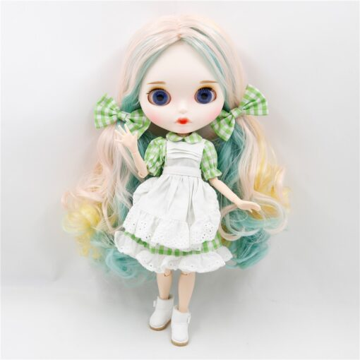 DBS BJD ICY Factory blyth doll nude 30cm Customized doll 1 6 doll with joint body 2