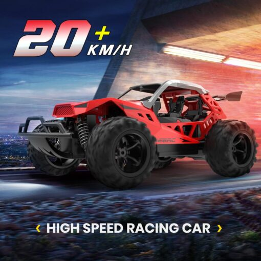 DEERC 1 22 Racing RC Car Rock Crawler Radio Control Truck 60 Mins Play Time 20 2