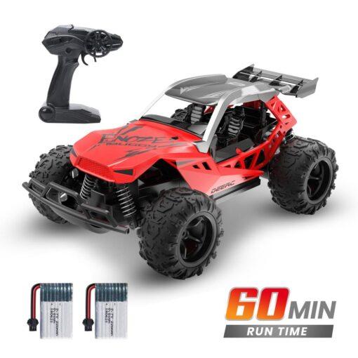 DEERC 1 22 Racing RC Car Rock Crawler Radio Control Truck 60 Mins Play Time 20