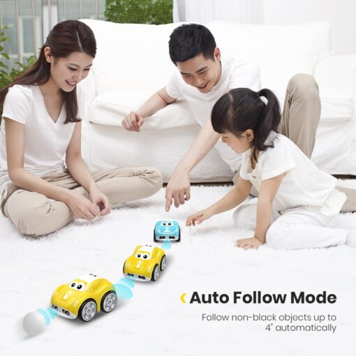 DEERC RC 1 10 Car Mini Remote Control Car For Kids Toy Cars With Auto Follow 1