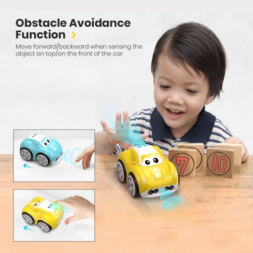 DEERC RC 1 10 Car Mini Remote Control Car For Kids Toy Cars With Auto Follow 2
