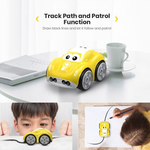DEERC RC 1 10 Car Mini Remote Control Car For Kids Toy Cars With Auto Follow 3