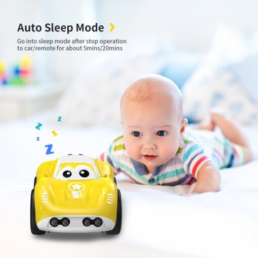 DEERC RC 1 10 Car Mini Remote Control Car For Kids Toy Cars With Auto Follow 4