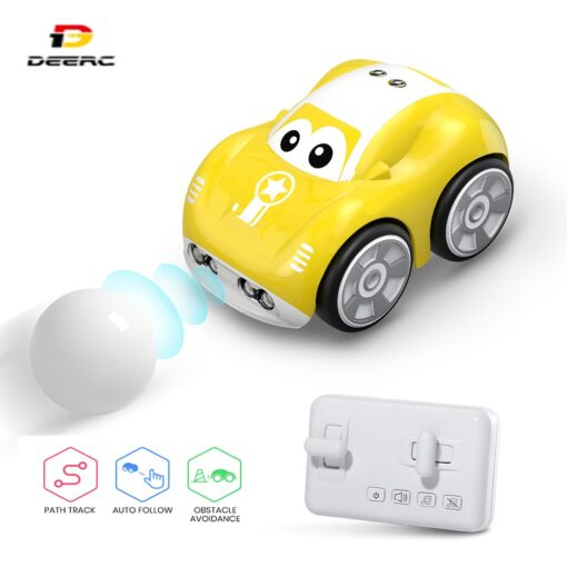 DEERC RC 1 10 Car Mini Remote Control Car For Kids Toy Cars With Auto Follow