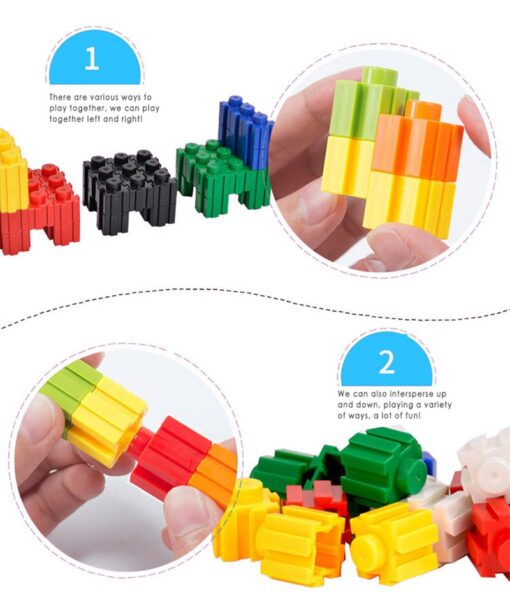 DIY Building Block 24 Colors Cartoon Children Difficult Assembly Toy Micro Diamond Small Particles Building Blocks 3